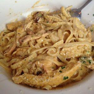 Blackened Chicken Fettuccine-Gino\'s Fine Italian Food