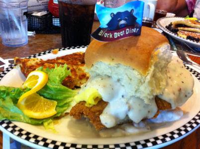 Chicken-biscuit-black Bear Diner